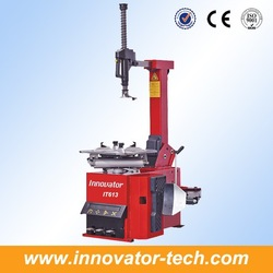 Automatic auto repair service shops for tire changing with tilting back post model IT613
