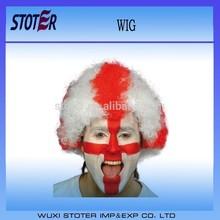 England football fans wigs