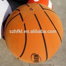 basketball design inflatable fabric covered ball