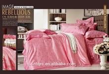 100% cotton 3d embroidery bedding set brand king size silk jacquard korean style bedding set luxury wedding queen bed sheet set