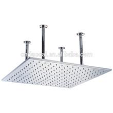 Big Size High End Bathroom Square Stainless Steel Shower Head (BT-L6030FJ)