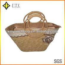 fashional corn tote straw bag