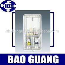 L type Single-phase plastic electric meter box
