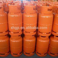 Export to Nigeria 12.5kg lpg cylinder