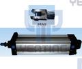 cilindro de aire 6431iso para la planta de proceso por lotes