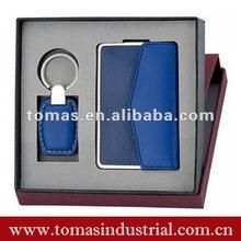 Promotional Leather Card Holder Gift Set