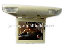 High quality 15.6inch 12V vehicle TFT LCD roof mount monitor