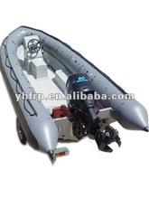 grp lightweight inflatable pontoon fishing boat
