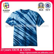 hot sale 100% cotton tie dye t-shirt