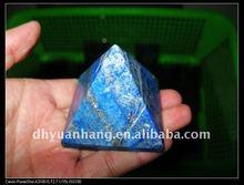 Affascinante lapislazzuli piramide di cristallo/lapis lazuli pietra scolpita piramidi