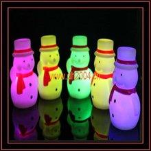 2012 Fashion shining christmas ornament led snowman
