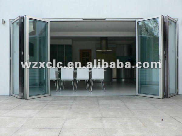 La f brica de aluminio correderas puertas plegables para - Fabrica de puertas plegables ...