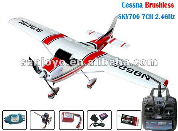 Cessna 182 BL RTF 5CH 2.4 GHz rc avião