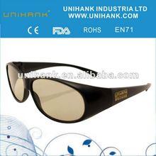 fashion circular polarized passive 3D video glasses fpr 3d tv,3dmovie,3d theater
