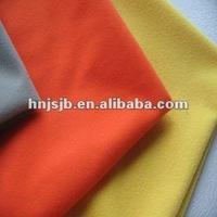 Silk feel brushed warp knitting Golden velvet fabric