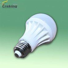 650 Lumen Flux 7W LED Lamp Bulb E27 Base and ceramic housing