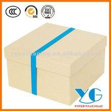 Recycled Kraft Shoe Gift Box kraft cardboard box kraft paper carton