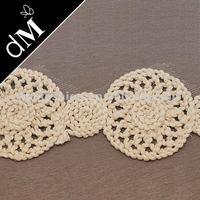 TR-793 7cm width crochet cotton lace trim