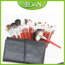 2012 Best Professional Makeup Brush Sets 28pcs Wooden Handle Nylon & Goat Hair Professional Makeup Brush Set