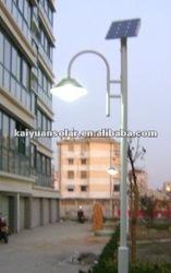 18w 3.5m solar garden led lamp