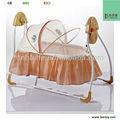 Novo Design do bebê elétrica cama balanço