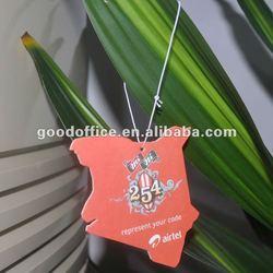 Hot promotion gift custom car freshener