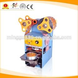 Minggu automatic plastic cup sealer (CE&ISO9001 manufacturer)