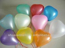2014 new desigh heart shape wedding decoration balloon