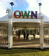 outdoor aluminum truss entrance for trade shows