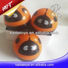 Ladybird flashing bouncing rubber ball