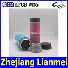 LFGB FDA eco-friendly BPA free double wall stianless steel thermo mug, coffee mug, travel mug