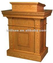 CP-001,Wooden Church Pulpit /Oak pulpit /wood pulpit