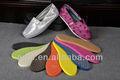 Eva/suelas de caucho para la fabricación de zapatos de las mujeres