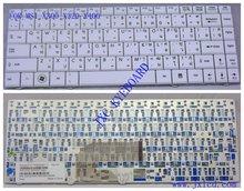 laptop keyboard for MSI X300 X320 X400 THAI white Model V103522BK1TI PN S1N-1ETH311-SA0