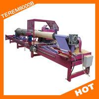 log home machinery/round wood lathe