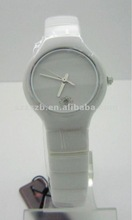 Fashion Watches 2012 New Arrivals Pure Ceramic Watch With Sapphire glass