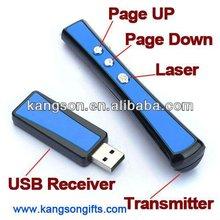 Wireless USB Word PowerPoint Presenter PPT Teach Red Laser Pointer Pen Red
