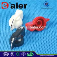 chicken-head potentiometer knob 6mm for knurled shaft