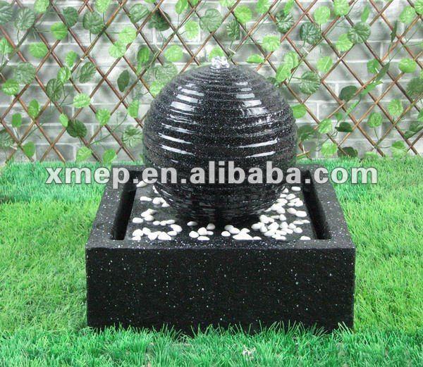 enfeites de jardim solar : enfeites de jardim solar:jardim Solar fonte-Outros enfeites e adornos de água para jardim