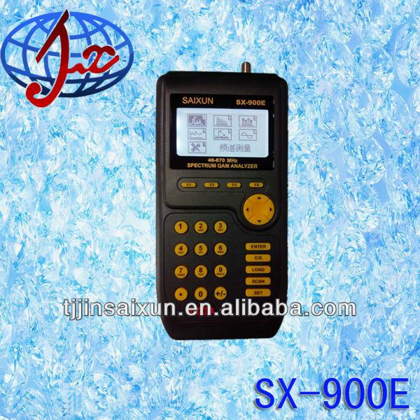 Analógico e digital tv a cabo- sinal de satélite medidor de nível sx900e