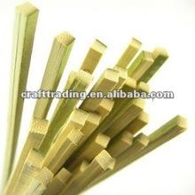 ThinkBamboo Brand Heavy Duty Square Profile Bamboo Flat Skewers