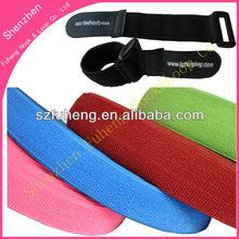 stretch velcro tape /elastic velcro strap