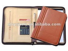 2012 new leather portfolio