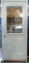 vent door, 9 lite glass door(steel frame), decorative glass insert door