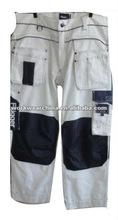 Recubierto de teflón resistente al agua y el aceite- resistente al pintor pantalones