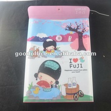 hot sales and high quality fit A4 promotional gift office file pocket