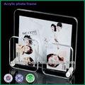 divertido de acrílico transparente marco de fotos conimanes
