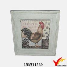 Farmhouse wooden antique picture frame