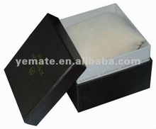 2012 popular logo customized watch boxes wholesale, ice watch box manufacture