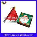 nuevo diseño de navidad de papel caja de torta